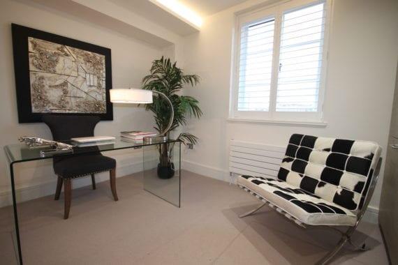 classy study interiors