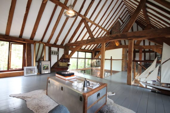 SHOW HOME BARN EAST SUSSEX