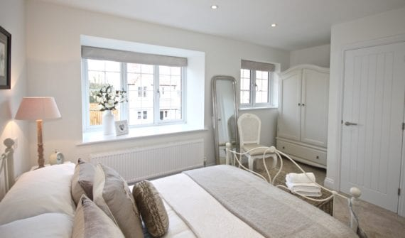 Bedroom two, spacious, light and airy...